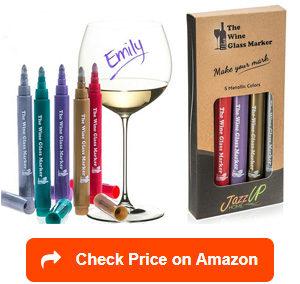 the original wine glass markers