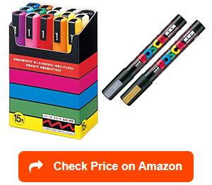 uni posca paint marker pen