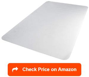 amazonbasics polycarbonate office carpet chair mats