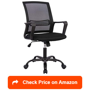 smugdesk mid-back ergonomic mesh office chairs