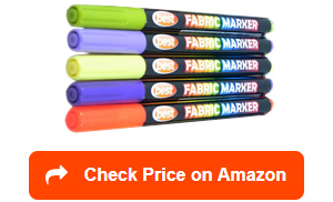 best bullet tip fabric markers