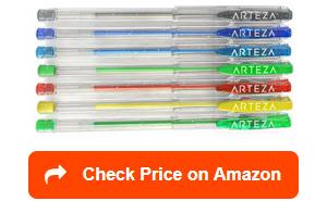 arteza glitter gel pens