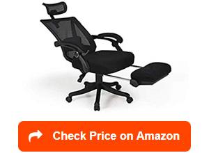 hbada reclining office desk chairs
