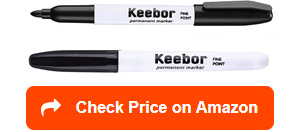 keebor basic advanced permanent markers
