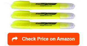 emraw glide solid gel erasable highlighters