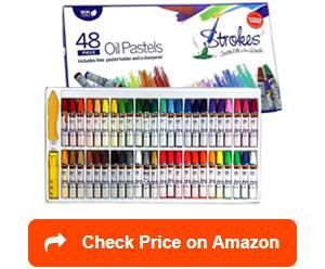 strokes art supplies oil pastels