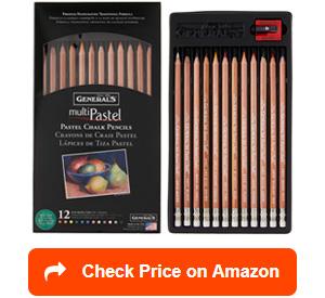 general 4400-12a pastel chalk pencils