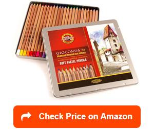 koh-i-noor artist's soft pastel pencils